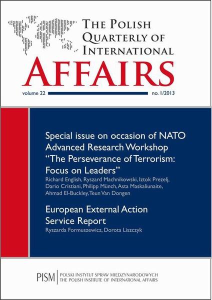 The Polish Quarterly of International Affairs 1/2013