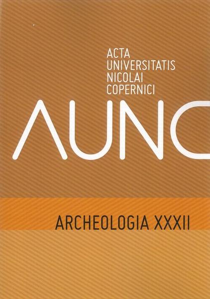 Archeologia XXXII