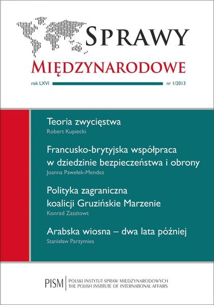 Sprawy Międzynarodowe nr 1/2013