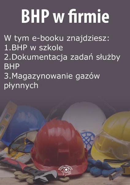 BHP w firmie, wydanie wrzesień 2014 r.