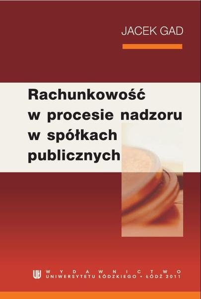 Rachunkowość w procesie nadzoru w spółkach publicznych