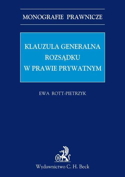 Klauzula generalna rozsądku w prawie prywatnym