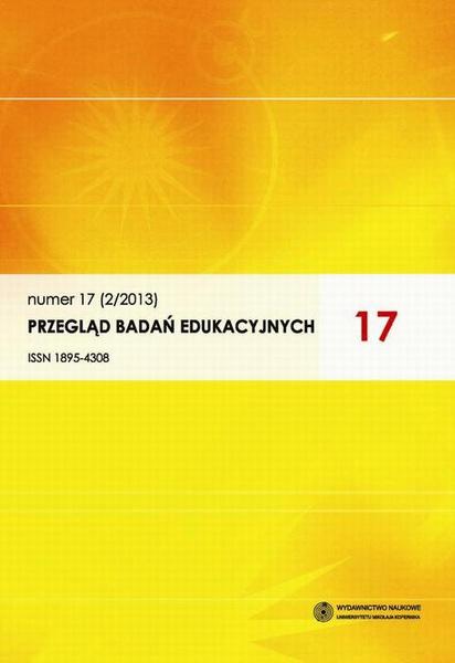 Przegląd Badań Edukacyjnych, nr 17(2/2013)