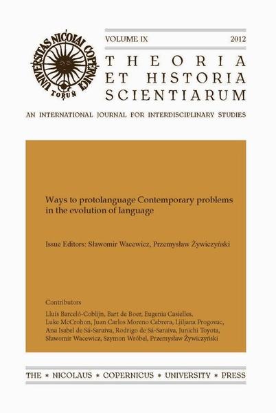 Theoria et Historia Scientiarum vol IX (2012)