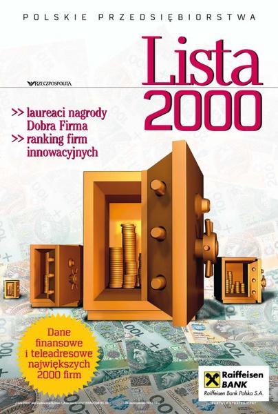 Lista 2000 - Edycja 2012