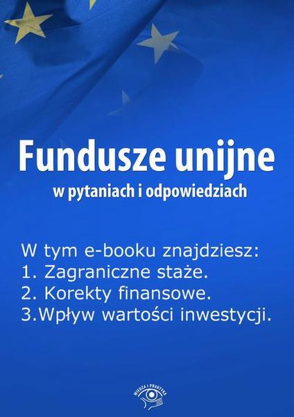 Fundusze unijne w pytaniach i odpowiedziach, wydanie lipiec 2014 r.