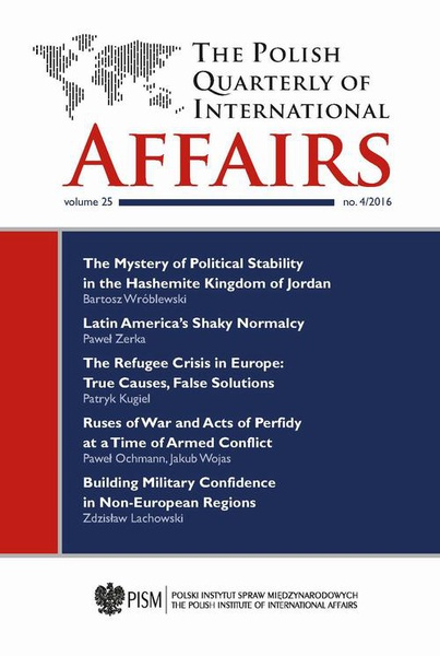 The Polish Quarterly of International Affairs nr 4/2016