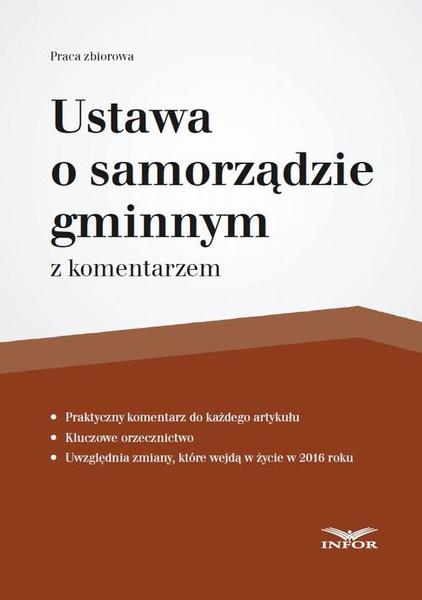 Ustawa o samorządzie gminnym z komentarzem