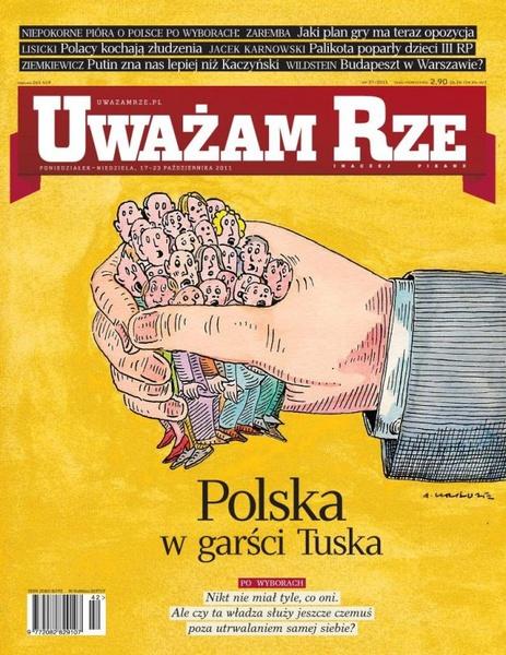 """""""Uważam Rze. Inaczej pisane"""" nr 37/2013"""