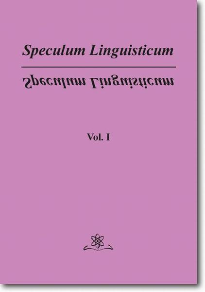 Speculum Linguisticum   Vol. 1