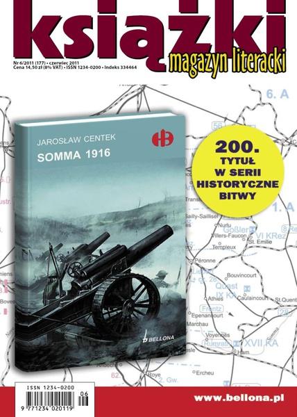 Magazyn Literacki KSIĄŻKI - nr 6/2011 (177)