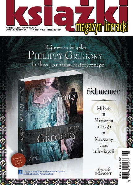 Magazyn Literacki Książki - Nr 6/2013 (201)