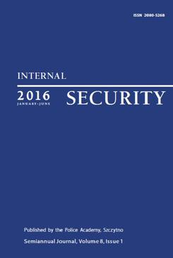 Internal Security (January-June) Vol. 8/1/2016