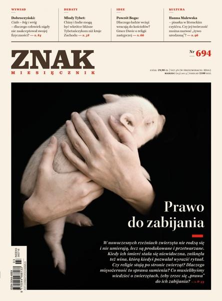 Miesięcznik Znak. Marzec 2013