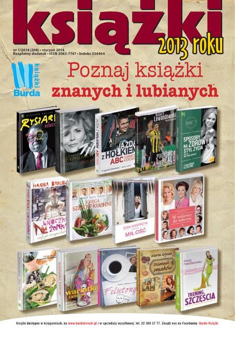 Magazyn Literacki Książki - Nr 1/2014 (208). Dodatek: Książki 2013 roku - Opracowanie zbiorowe