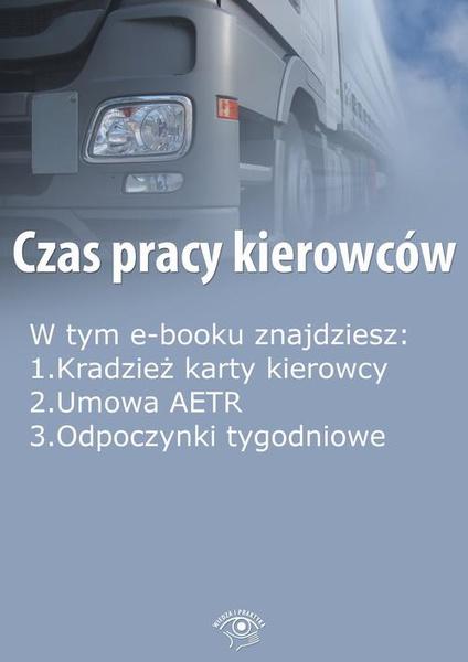 Czas pracy kierowców, wydanie marzec 2015 r.