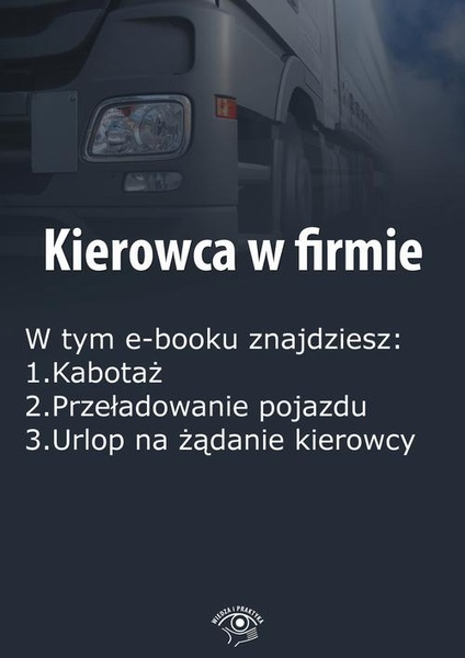 Kierowca w firmie, wydanie grudzień 2015 r.