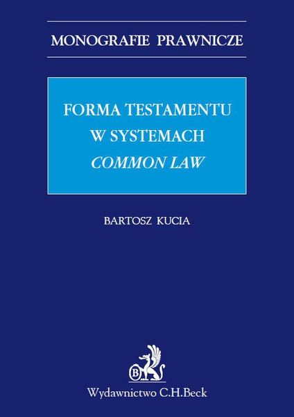 Forma testamentu w systemach common law