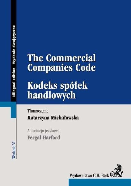 Kodeks spółek handlowych The Commercial Companies Code