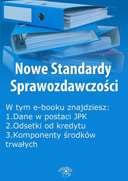 Nowe Standardy Sprawozdawczości, wydanie kwiecień 2016 r.
