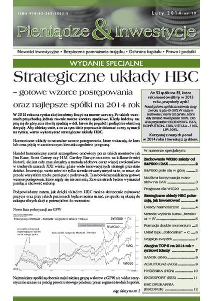 Strategiczne układy HBC - gotowe wzorce postępowania oraz najlepsze spółki na 2014 rok