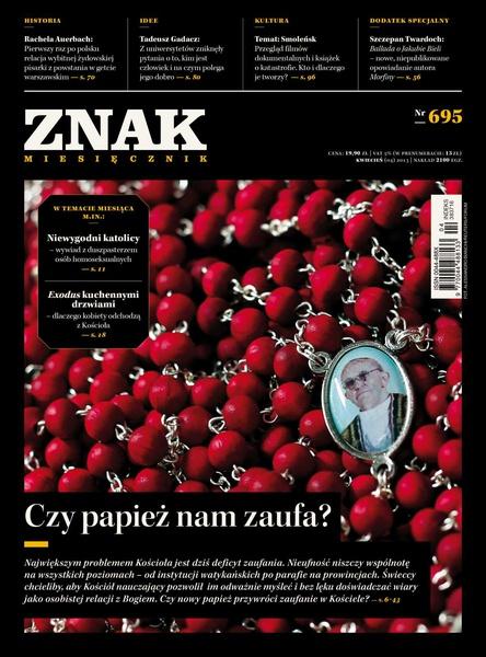 Miesięcznik Znak. Kwiecień 2013
