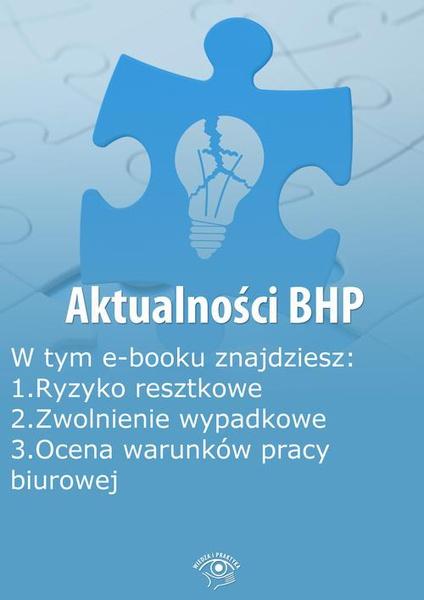 Aktualności BHP, wydanie październik 2014 r.