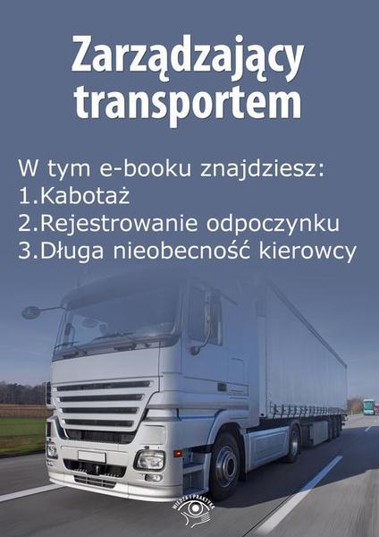 Zarządzający transportem, wydanie listopad 2015 r.