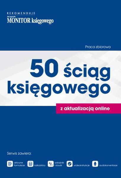 50 ściąg księgowego