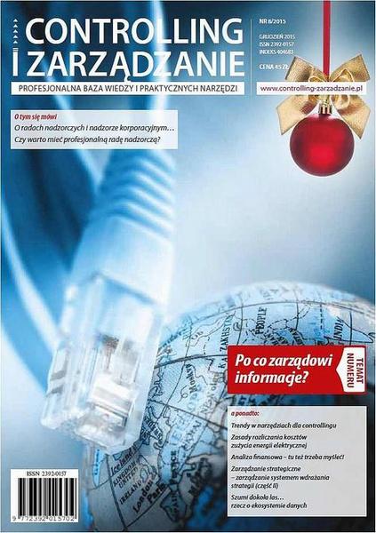 Controlling i Zarządzanie (nr 8/2015)