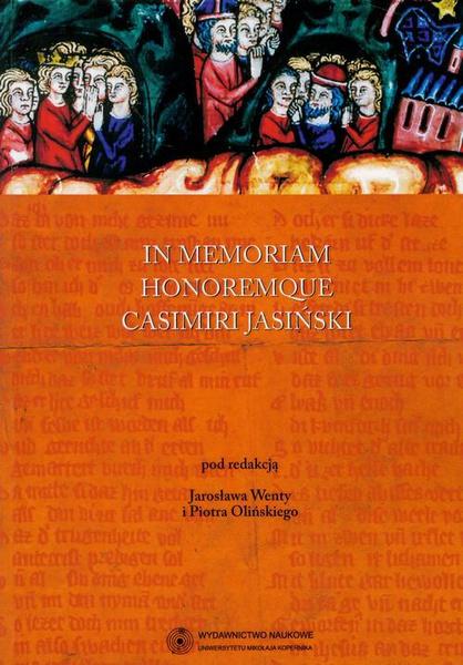 In memoriam honoremque Casimiri Jasiński