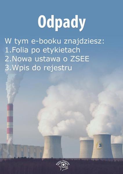 Odpady, wydanie lipiec 2015 r.