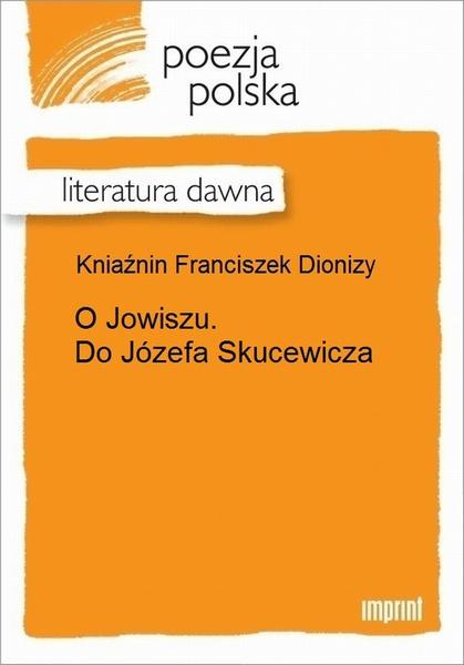O Jowiszu. Do Józefa Skucewicza