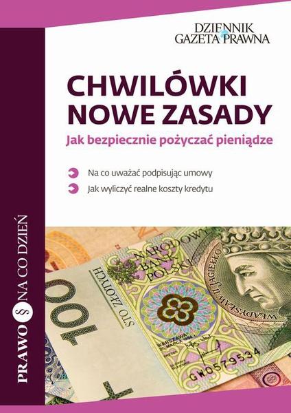 Chwilówki: nowe zasady Jak bezpiecznie pożyczać pieniądze