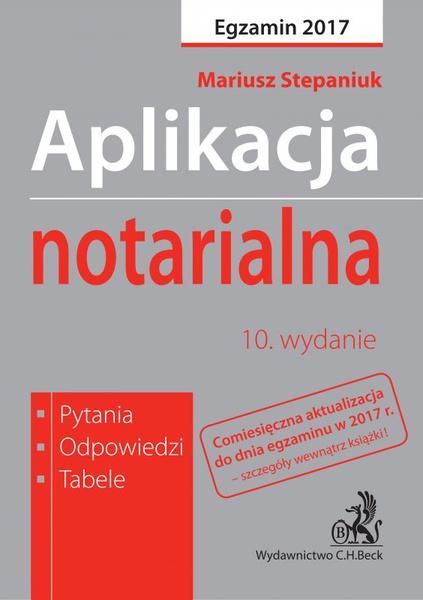 Aplikacja notarialna. Pytania odpowiedzi tabele
