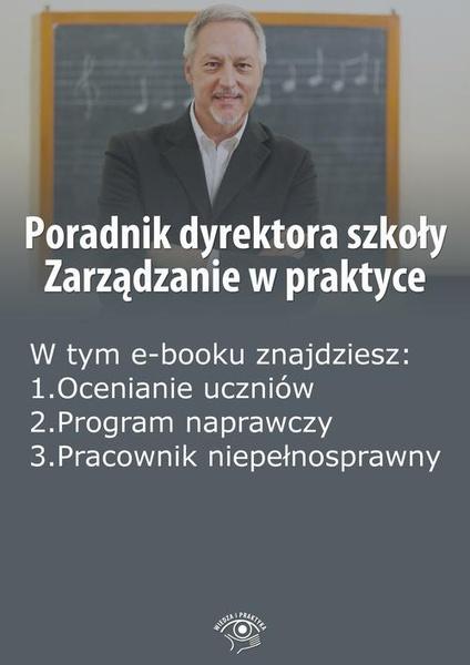 Poradnik dyrektora szkoły. Zarządzanie w praktyce, wydanie styczeń 2015 r.