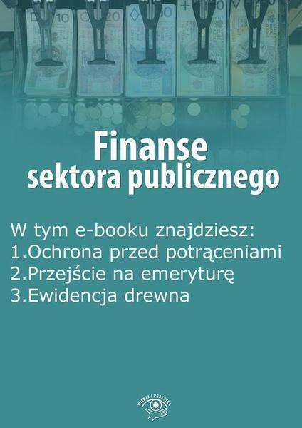 Finanse sektora publicznego, wydanie kwiecień 2015 r.