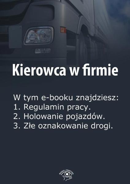 Kierowca w firmie, wydanie luty 2014 r.