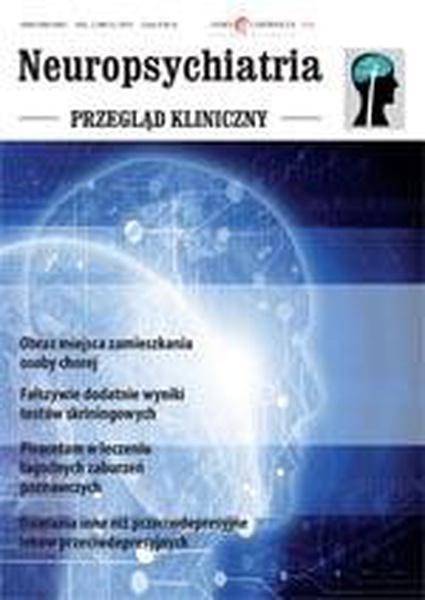 Neuropsychiatria. Przegląd Kliniczny NR 3(6)/2010