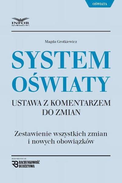 System Oświaty Ustawa z komentarzem do zmian