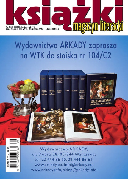 Magazyn Literacki KSIĄŻKI - nr 4/2013 (199)
