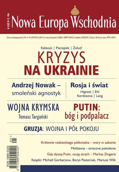 Nowa Europa Wschodnia 3-4/2014
