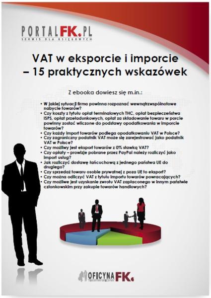 VAT w eksporcie i imporcie – 15 praktycznych wskazówek