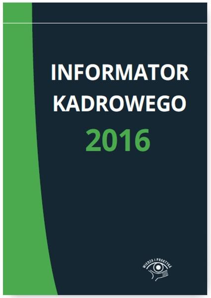 Informator kadrowego 2016