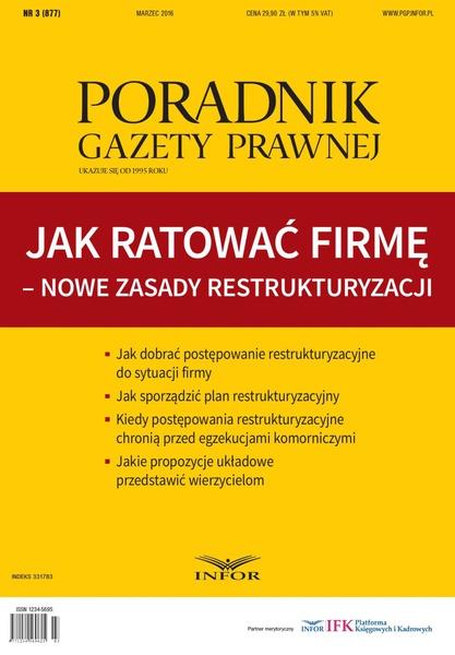 Jak ratować firmę - nowe zasady restrukturyzacji