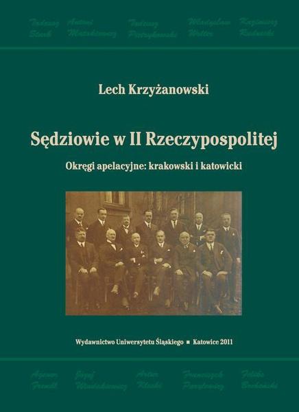 Sędziowie w II Rzeczypospolitej