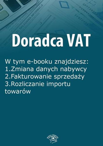 Doradca VAT, wydanie kwiecień-maj 2016 r.