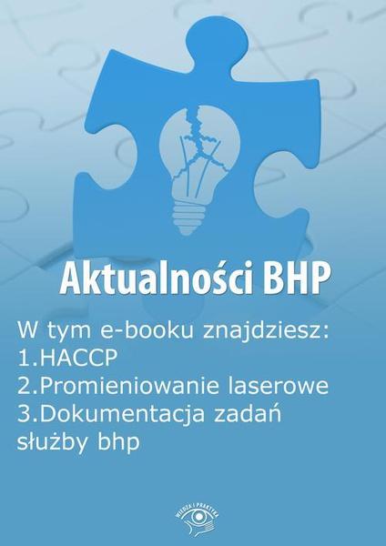 Aktualności BHP, wydanie listopad 2014 r.