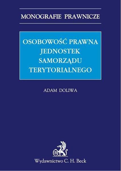 Osobowość prawna jednostek samorządu terytorialnego