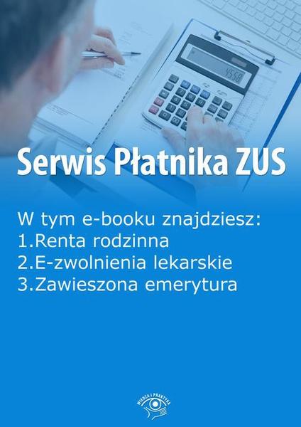 Serwis Płatnika ZUS, wydanie listopad 2015 r.